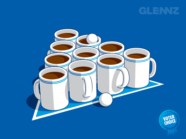 Coffee Pong - Glennz Tees