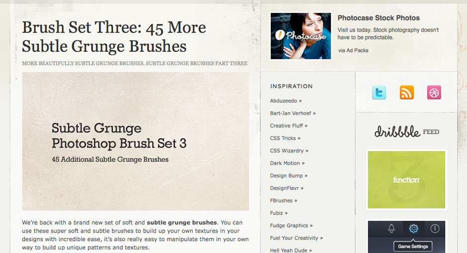 45 Subtle Grunge Brushes