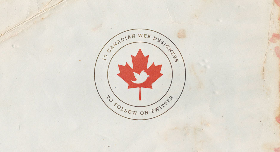 Canadian Web Designers on Twitter