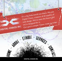 Digital Chaos Inc. Website