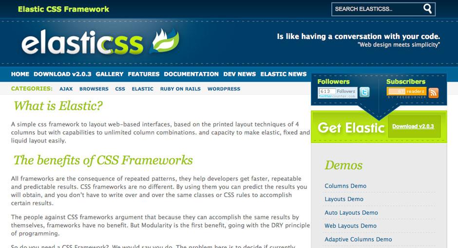 Elastic CSS