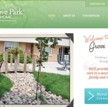 Grove Park Home Website