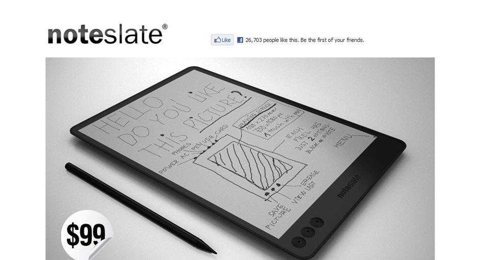 Note Slate