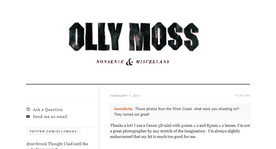Olly Moss