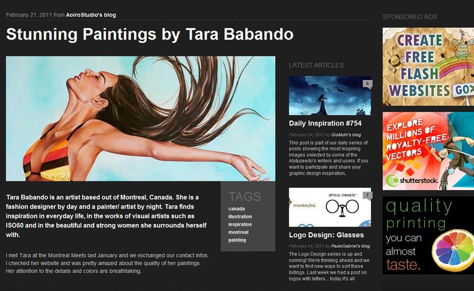 Inspiration: Tara Babando