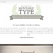 Typography: The League of Moveable Type