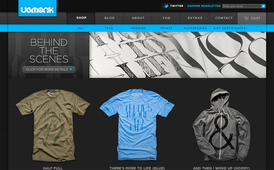 10 Cool T-Shirt Websites | Oakes Design | Web Design, Development ...