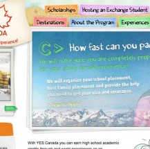 YES Canada Website